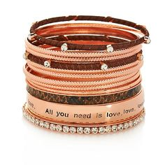 """""""All You Need Is Love""""  Bracelets"""