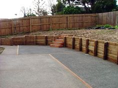 wood timber retaining wall ideas - Timber Retaining Wall Design