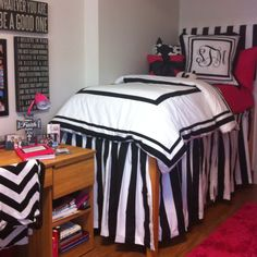Stephanie's Dorm Room!