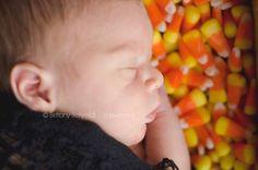 #newborn #halloween #Candycorn