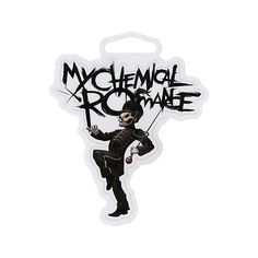 My Chemical Romance Black Parade Sticker | Hot Topic (3.14 AUD) ❤ liked on Polyvore featuring accessories, my chemical romance, pictures and sticker