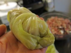 Paleo stuffed cabbage rolls - I have looked for these since I used to make them for my dad! Yum!