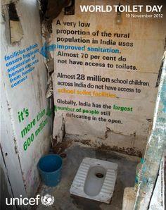 World Toilet Day - India Infographic