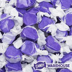 Huckleberry Salt Water Taffy Gummy Bear Cakes, Gummy Bears, Birthday Sweets, Taffy Candy, Salt Water Taffy, Purple Candy, Baking Supplies, Blueberry