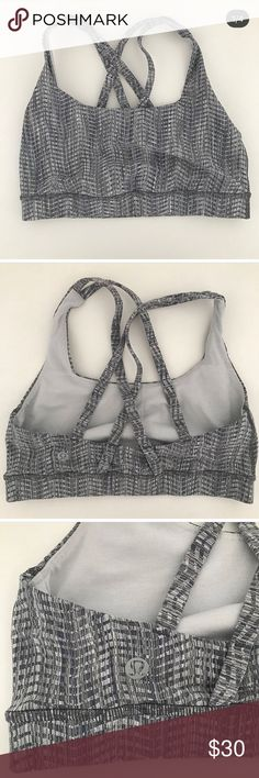 fa0cf99b87677 Lululemon Sports Bra Size 4 Like new Lululemon sports bra. Women s size Worn  and washed only . Gray lululemon athletica Other