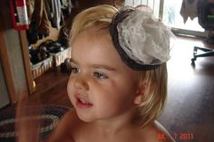 homemade headband   Sew Little Time on facebook