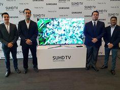 @samsung presentó en #Perú su nueva línea de televisores #SUHD 2016.