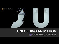 ▶ Video Tutorial: Unfolding Animation in Adobe After Effects - YouTube