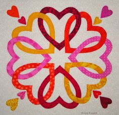 FABRIC THERAPY: The Big Reveal - QUILTMAKER'S 100 BLOCKS, VOL 10 Blog Tour... Detailed tutorial on applique