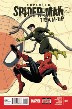 Superior Spider-Man Team-Up # 12 by Paolo Rivera