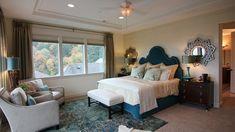 Mirrors over nightstands | Bedroom Design