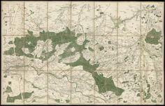 1744-Carte_de_Orléans,_Montargis,_Pithiviers_(Cassini).JPG 464×300 pixels