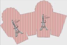 Cajita para Cupcake Paris.