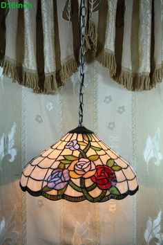 Rose Tiffany Lamp 16S0-211P11