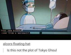 TG Tokyo Ghoul Plot