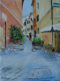 Straatje in Rome, Vicolo del Cedro