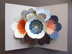 Sarah Louise Matthews Pop Up Flower Bouquet Card