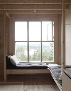 Bergaliv Landscape Hotel - The Loft House, Sweden - Architect Hanna Michelson Architecture Design Concept, Interior Architecture, Interior And Exterior, Interior Design, Interior Colors, Room Interior, Casa Loft, Loft House, Design Hotel