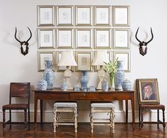 Belclaire House: Blue & White Moment in Traditional Home