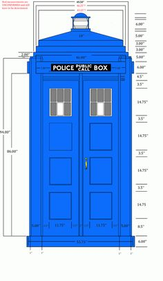 Build your own TARDIS If you think that I won't need this one day, you don't know me very well.
