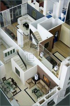 Modern Interior Model.