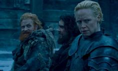 Game of Thrones ... Tormund and Brienne