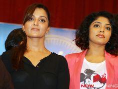 Manju Warrier and Rima Kallingal at Hair Donation Campaign