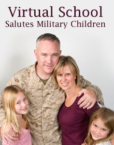 """How Virtual School Works for Military Families"" from Connections Academy online school. Pin to Prepare—Create a Pinboard of ""Cool Tools for Online School"" for a Chance to Win! Enter here: http://expi.co/03H8Q #onlinelearning #militaryfamilies"