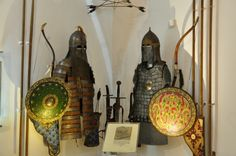 during the 14-15th century, the armor of a Tartar mounted warrior, one of those whose ancestors had invaded and destroyed the early-medieval...