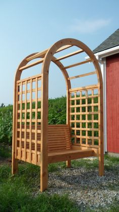 Arbor Bench from the Kreg Owners' Community (kregjig.ning.com)