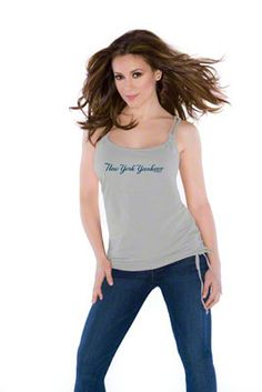 b0a8dec20 Touch by Alyssa Milano New York Yankees Braided Tank Top Yankees Outfit
