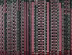 """Michael Wolf, from the exhibition """"Architecture of Density"""". Stunning and sobering, the photographs of high-rise apartment buildings in Hong Kong by German photographer Michael Wolf reveal his personal fascination with life in mega-cities. Rooftop Paris, Hong Kong Architecture, Architecture Art, Watercolor Architecture, Classical Architecture, Ancient Architecture, Amazing Architecture, David Harvey, Michael Wolf"""