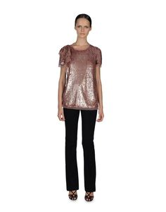 Valentino Jersey Top With Sequin & Lace Details (6) NWT Retails $1090 #Valentino #JerseyTop #Casual