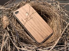 Wooden iPhone cover - Toast