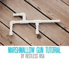 mini marshmallow shooter instructions