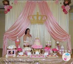 Decoracion Baby Shower Nina De Princesa.Las 182 Mejores Imagenes De Baby Shower Para Nina Baby