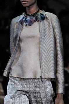 Giorgio Armani Details S/S '14