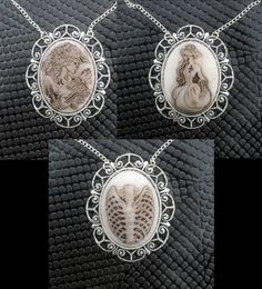 Hey, I found this really awesome Etsy listing at https://www.etsy.com/listing/127474682/handmade-lolita-zombie-cameo-pendant-on