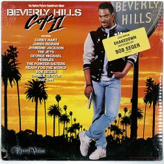 """""""Beverly Hills Cop II"""" is the soundtrack to action-comedy film starring Eddie Murphy. The film introduced George Michael's controversial song """"I Want Your Sex"""" and """"Shakedown"""" by Bob Seger, both #1 hits. It also includes """"Cross My Broken Heart"""" by The Jets (a Top 10 hit on the Billboard Hot 100). """"Shakedown"""", was nominated for an Academy Award and the Golden Globe. """"I Want Your Sex"""", won the Razzie Award for Worst Song. (Vinyl LP)"""