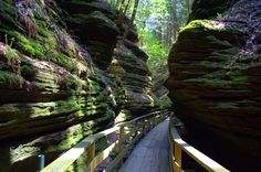 Witches Gulch - Wisconsin Dells, Wisconsin, USA
