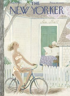 The New Yorker - Saturday, August 6, 1955 - Issue # 1590 - Vol. 31 - N° 25 - Cover by : Rea Irvin