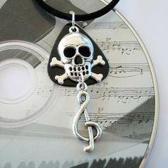Guitar Pick Necklace #dteam