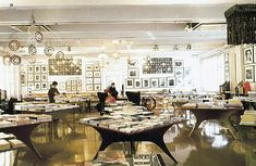 The bookstore section of the larger complex dedicated to art and design certainly lives up to its mission. Corso Como Bookshop, Milan, Italy