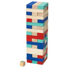 IKEA - LATTJO, Stacking game, Helps the child develop fine motor skills and hand/eye co-ordination.