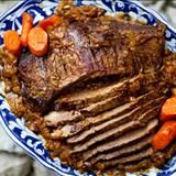 Beef brisket is a fabulous cut of meat. The brisket is located between the shoulders and the forelegs of the steer