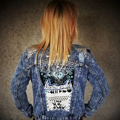 denim custom jacket, custom jacket, jeans jacket