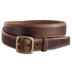 Mens Leather Belt - Field Club Leather Belt -- Orvis on Orvis.com!