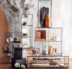 Roost Glass Display Cabinets.