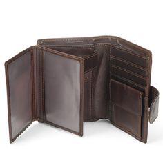 W x H x D 13 x 10 x 2 cm Dimensions Tommy Hilfiger Men/'s ETON CC FLAP AND COIN POCKET Wallets Brown Size