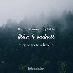 Listening without judging is an act of kindness
